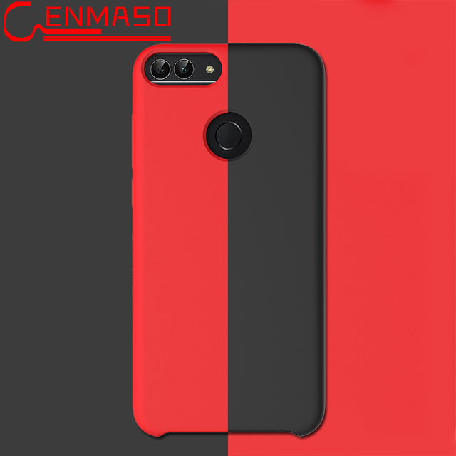 Huawei P suave de líquido de silicona teléfono caso Huawei Honor 9 Lite funda mate Ultra delgada A protectora Capa