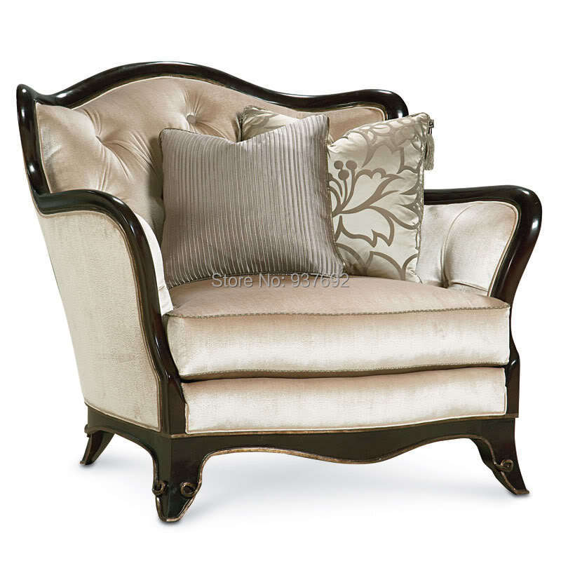 Fc1710 french style high back sofa chair bedroom chair - High back living room chairs suppliers ...