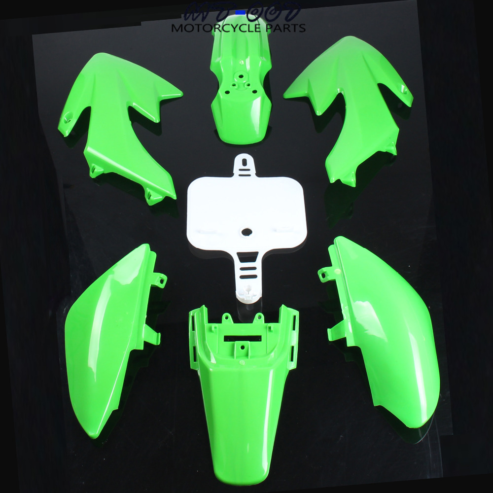 Free shipping PLASTIC KIT FENDER For CRF50 XR50 70 CRF 50 XR 50 SDG SSR Pro 50cc 110c 125cc Dirt Pit Bike Fit For Kayo KR110
