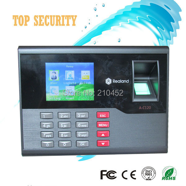 Simple USB fingerprint time attendance time clock biometric fingerprint and RFID card time recording A/C120 a c030t fingerprint time attendance clock id card tcp ip usb