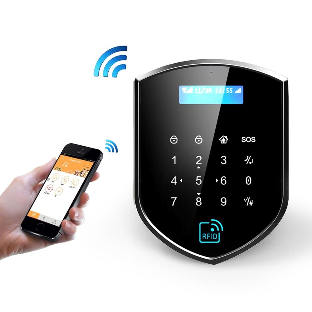 Wolf-Guard WM3GR 3G Wifi bezprzewodowy system alarmowy do domu zestaw DIY kontrola aplikacji wykrywacz ruchu czujnik system antywłamaniowy