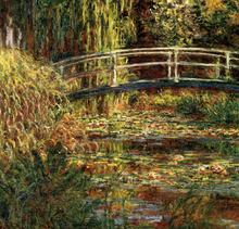 Japanese Bridge Claude Monet Abstract Oil Painting High Quality Reproduction Wall Decorative Canvas Suppliers