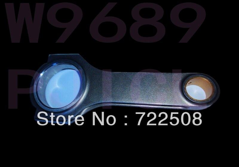 for E39 S62 forged 4340 billet connecting rod Stahlpleuel mit H Schaft bielle biella biela free shipping Quality warranty