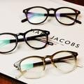 2016 Mulheres Da Marca Espetáculo Quadro de Moda Vidros Ópticos Quadro Óculos Com Vidro Transparente Dos Homens Grau Clara Vidros Transparentes
