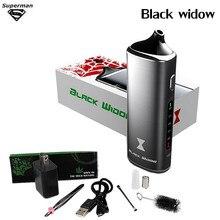 2017 Nuevo llega el Negro viuda Kit Vaporizador Hierba Seca Cigarrillo Electrónico pluma Vape E Cig vapor VS Negro Mamba E caja de Cigarrillos mods
