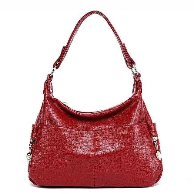 جلد طبيعي ريترو المرأة حقيبة السيدات حقيبة/حقيبة كتف المرأة Crossbody حقيبة ساعي حقائب اليد النسائية