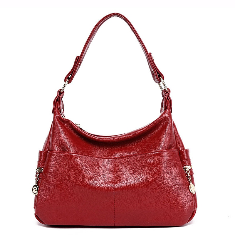 Genuine Leather Retro Women Bag Ladies Satchel/Shoulder Bag Women Crossbody Messenger Bag Female Handbags Totes Bolsas Feminina zency new women genuine leather shoulder bag female long strap crossbody messenger tote bags handbags ladies satchel for girls