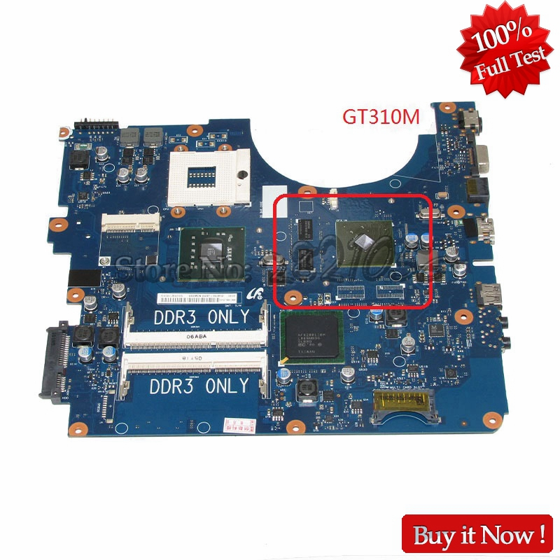 NOKOTION BA92-06345A BA92-06345B Laptop Motherboard For Samsung NP-R530 R530 PC Main Board DDR3 PM45 GT310M Free CPU nokotion for samsung r530 laptop motherboard ba92 06346a ba92 06346b ba41 01227a pm45 gt310m ddr3