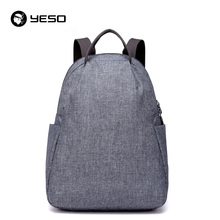 YESO Fashion Backpack Men 12 13 14 inch Backpacks 2018 Water