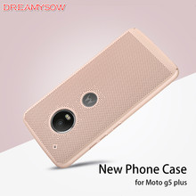 Heat Dissipation Cases Cover For Moto G5 Plus G5plus X5 E4Plus Z2Play G4Play Mesh Case Hard PC Back Cover Shell Breathable Case(China)