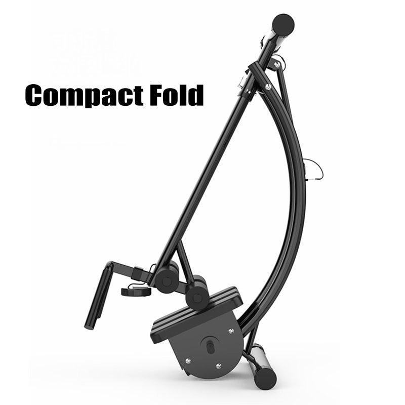 Dispositivo Abdominal plegable, carga de entrenador de abdominales con estructura de acero de 30 libras, equipo de entrenamiento de cintura con forma de pliegue compacto - 2