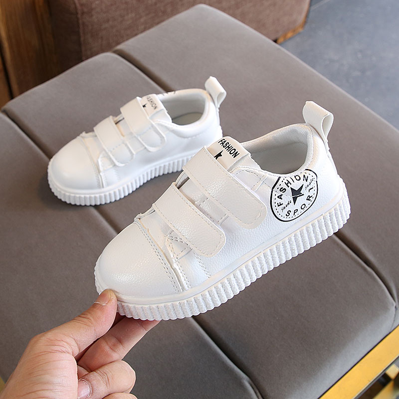 New 2018 Spring/Autumn baby casual shoes hot sales high quality Pu baby sneakers fashion solid color breathable boys girls shoes