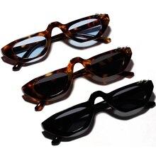 Small Vintage Rectangle Sunglasses Women Brand Designer Frame Black Red Sun Glasses Retro Eyewear Eyeglasses Frames Men