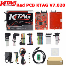 Online Version KTAG V7.020 SW V2.23 ECU Programming Tool K-TAG Master Version No Tokens Limitation by DHL Free
