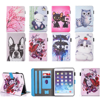 Cartoon Case For New IPad 9 7 2017 Case Smart Cover Funda Tablet Model A1822 A1823