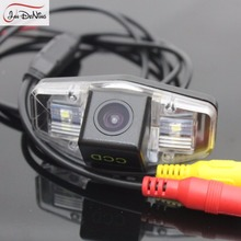 JanDeNing HD CCD Car RearView Parking Backup Reverse font b Camera b font License Plate Light