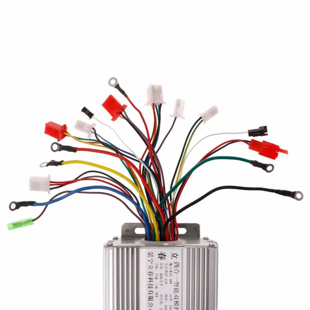 small resolution of dc 48v 1500w electric bicycle e bike scooter brushless motor speed controller