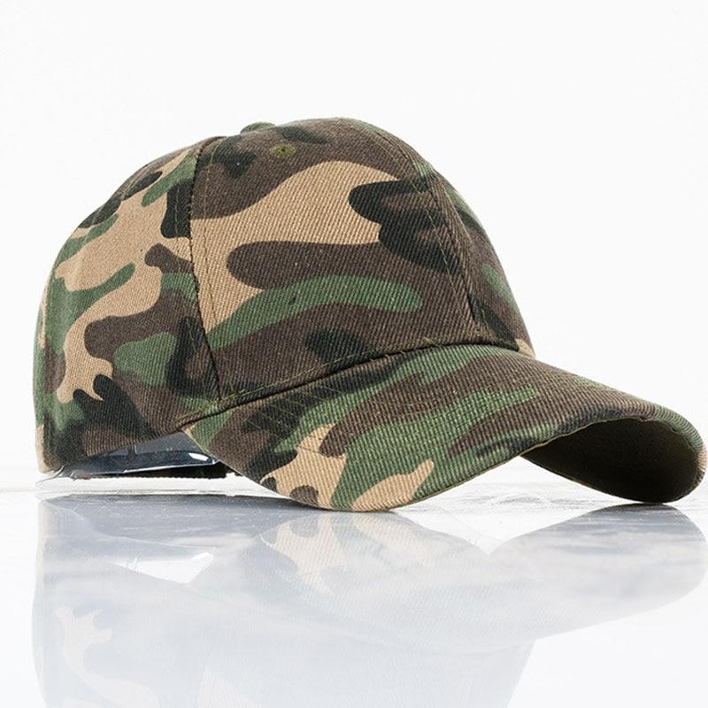 Camo Baseball Caps Men Army cap summer hat for men Snapback Hip hop bone Camouflage  cap trucker hat Dad Hat casquette wholesale-in Baseball Caps from ... 655dfd08887