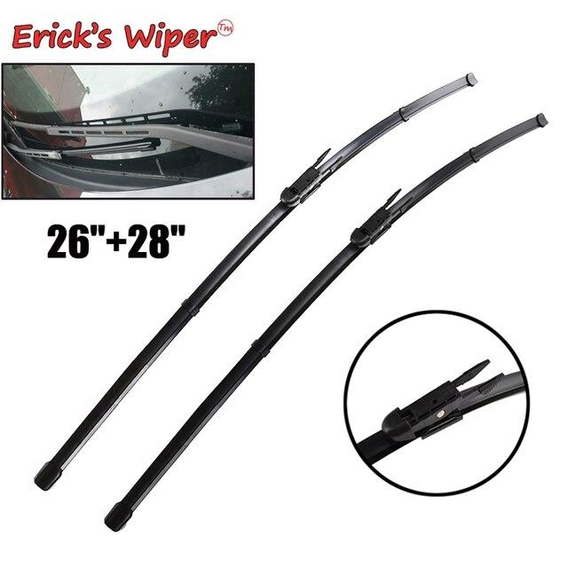 "Ericks Wiper Front Wiper Blades For Peugeot 307 Hatchback 307CC 307SW Estate Windshield Windscreen Front Window 28""+26"""
