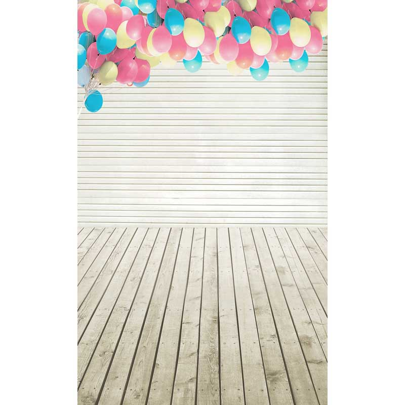 birthday photography backdrops Coloful Balloon Props Decor Wood Photo Backgrounds For Kids/Baby/Child 2 pin curved screw terminal block connectors green 20 piece pack