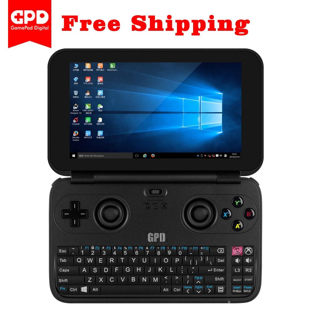 New GPD WIN Aluminium Shell Mini Game Laptop Notebook 5.5