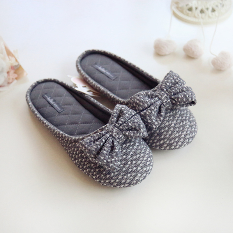 japanese style cute ladies house slippers for women indoor office
