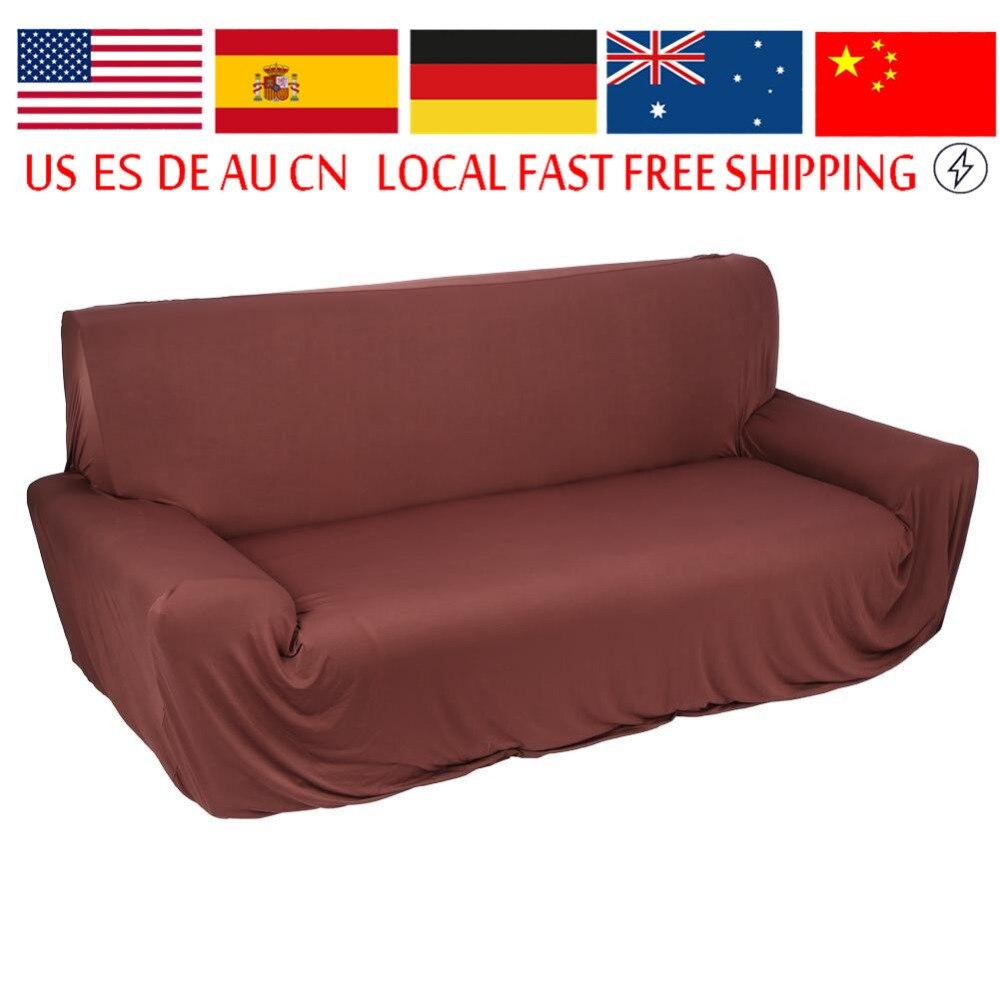 Modern Pure Color Fashion Elastic Sofa Covers Furniture