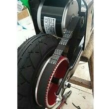 300 Вт 24 В DC матовый мотор с контроллером набор для электрического велосипеда скутер ремень колеса мотор комплект Ebike конверсионный комплект
