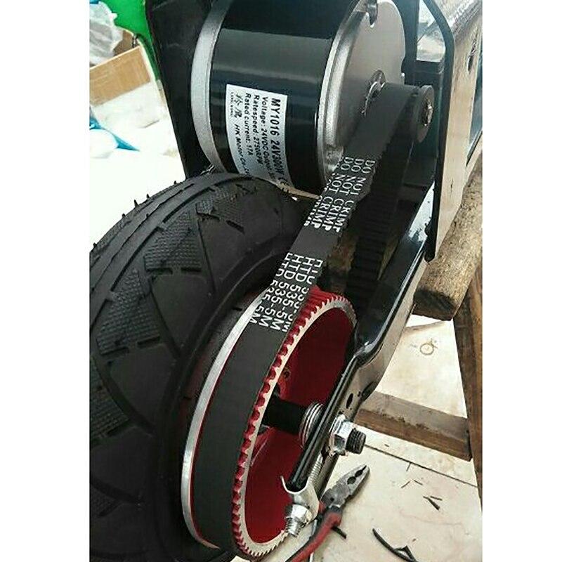 300 Вт 24В DC матовый мотор с контроллером набор для электрического велосипеда ремень для скутеров колесный мотор Набор для электровелосипеда ...