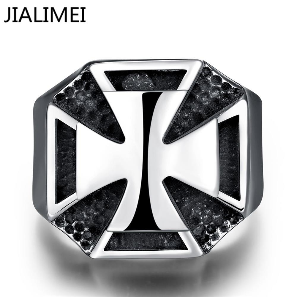 Wholesale drop shipping fashion 316L Stainless Steel finger Rings punk Vintage Party Jewelry R219