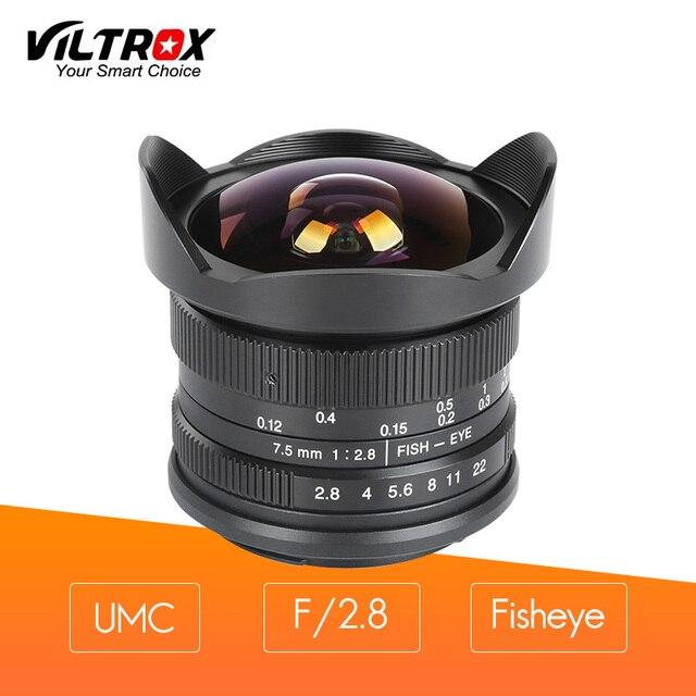 Viltrox 7.5mm F/2.8 Ultra Camera Fisheye Lens Full Frame / Half ...