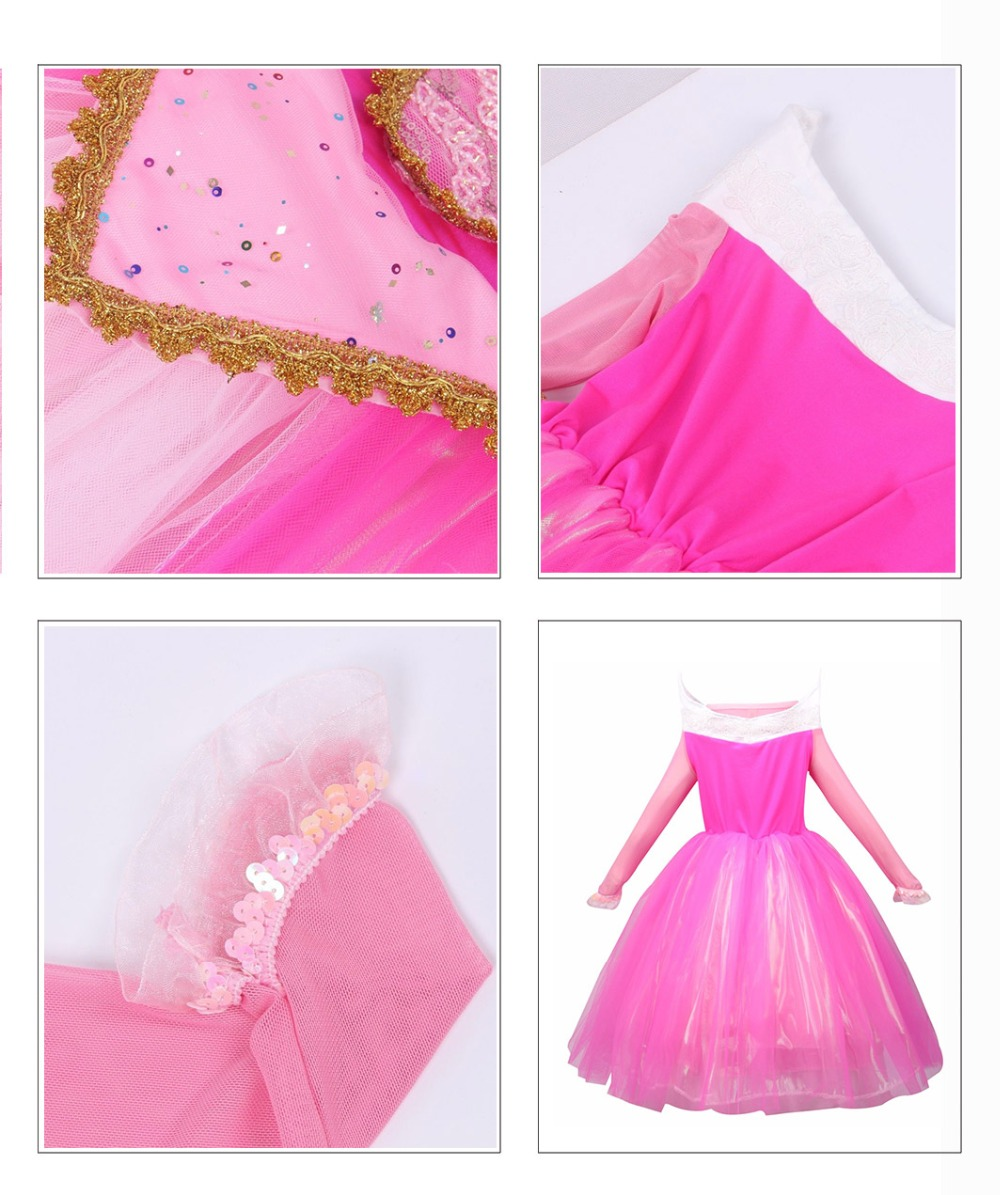 HTB1kKLFJmzqK1RjSZFjq6zlCFXaX - Fancy Baby Girl Princess Clothes Kid Jasmine Rapunzel Aurora Belle Ariel Cosplay Costume Child Elsa Anna Elena Sofia Party Dress