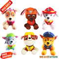 20CM Russian Cartoon Canine Patrol Puppy Dog Plush Toy Action Figures Toy Doll Model Kids  Christmas Gift Patrulla Canina juguet