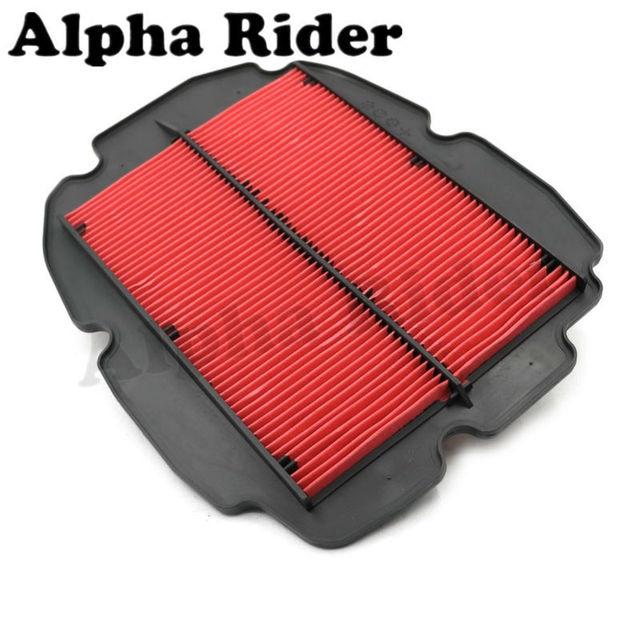 Filtro de entrada de aire de la motocicleta para honda vfr 800 vfr800 1998-2009 2008 2007 2006 2005 2004 2003 2002 2001 2000 1999