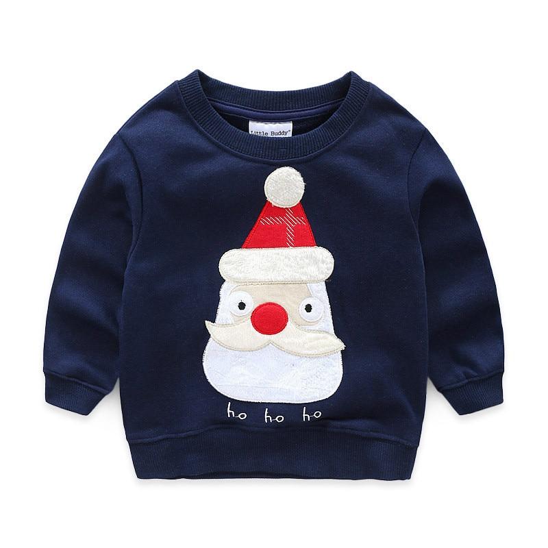 Jumpingbaby 2018 Jungen T-shirts Weihnachten Sweatshirt Kinder Kleidung Roupas Infantis Menino Satan Camiseta Camisas T-shirt Tops
