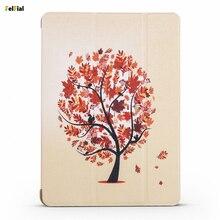 Купить с кэшбэком For Apple iPad Mini 4 Case Luxury PU Leather Painted Protective Case Cover for iPad Mini 4