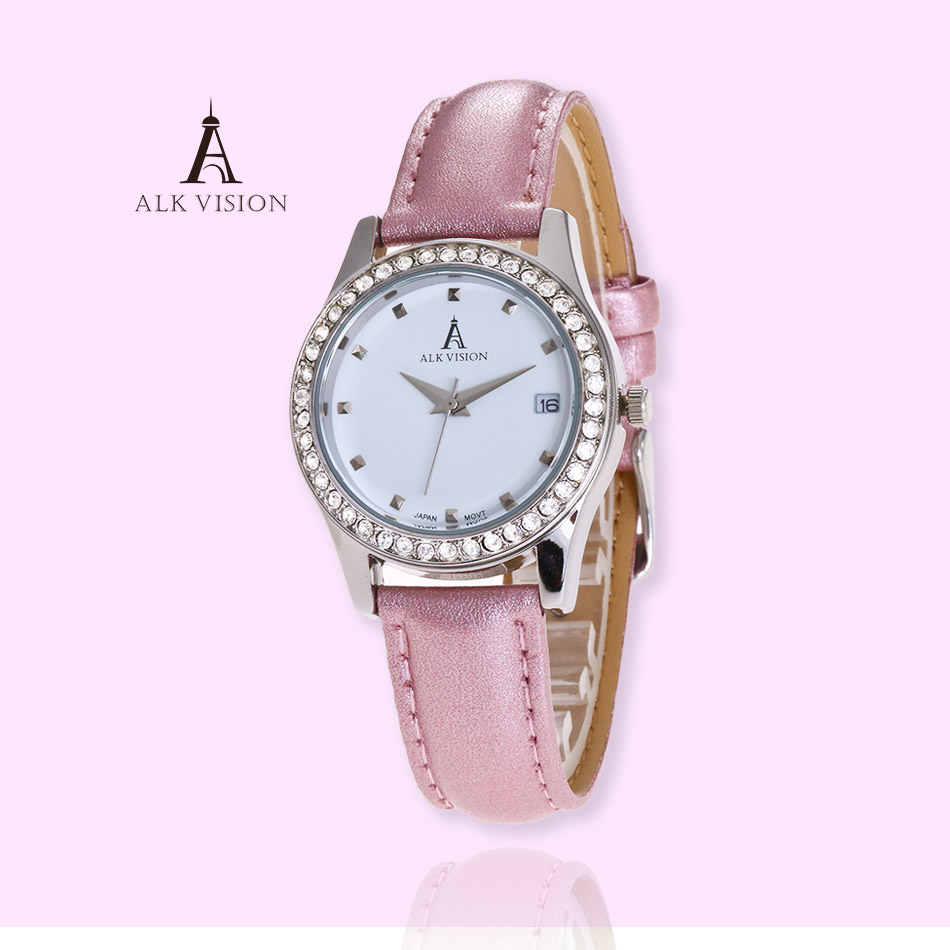 watches women fashion watch 2017 Top Brand Womens Watches leather band pink white black Retro Wrist Watch Leather Band Quartz литой диск replica legeartis concept mb507 8x18 5x112 d66 6 et41 mgmf
