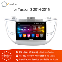 Ownice K1 K2 Eight Core Android 8.1 car radio player For HYUNDAI TUCSON 2014 2015 gps navi 2 G RAM 32G ROM 4G SIM Card