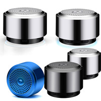 led music HOT Mini Bluetooth Speaker USB Colorful Led Light Wireless Portable Music Box Subwoofer Small Speaker With Changing Lights R0327 (2)