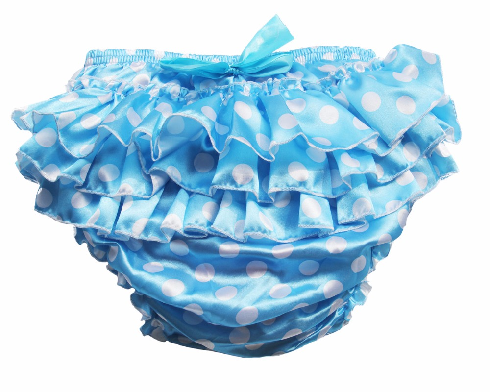 Adult Baby Ruffle Panties Bloomers Incontinence Diaper Cover #FSP06-6, M / L / XL / XXL