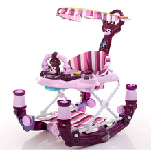 2 in 1 Baby Learn Walkers for kids With Wheels Andador Car Toddler Walker for Kids Learning Baby Fold Music Balance baby walker 4 colors baby stroller children car walkers with wheels children trolley slippery car skateboard baby walker scooter