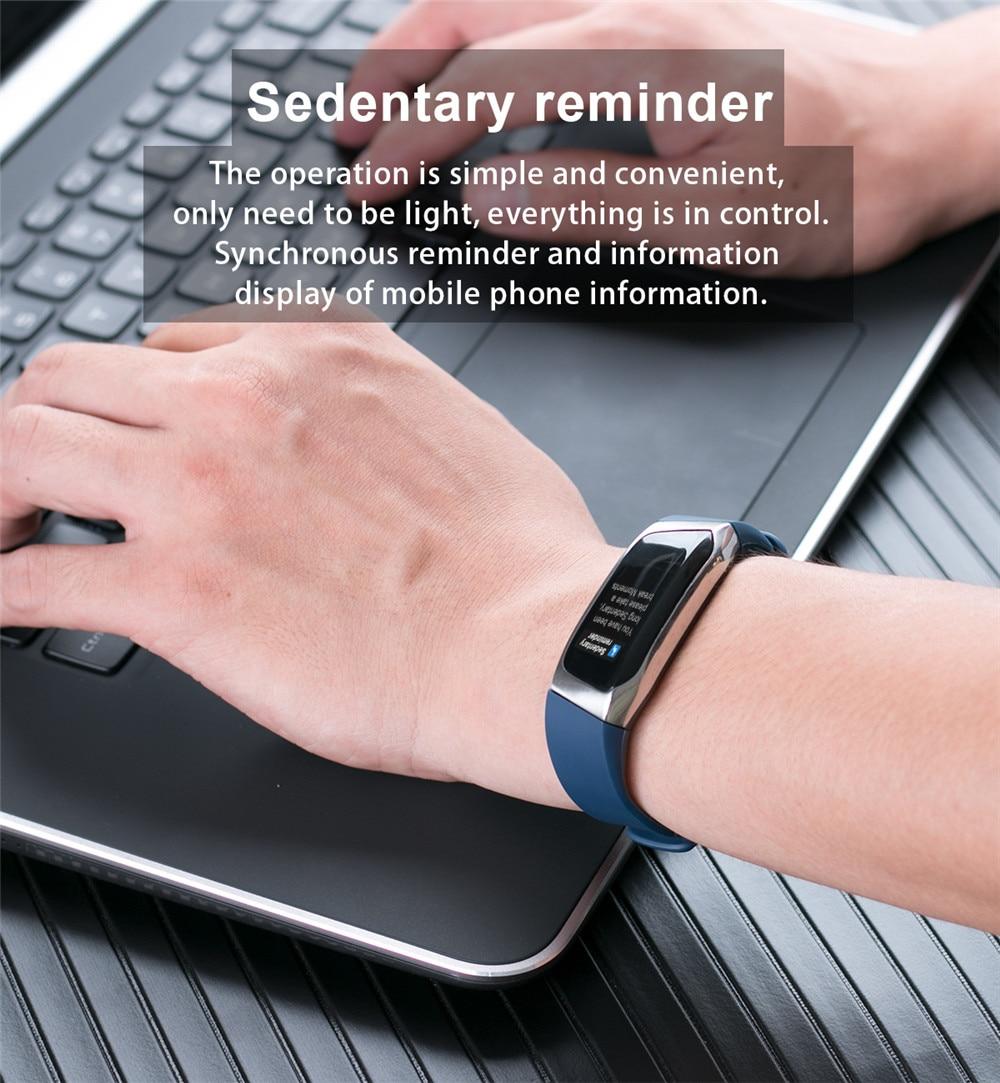 HTB1kKMSKkyWBuNjy0Fpq6yssXXa9 Greentiger E18 Smart Bracelet Blood Pressure Heart Rate Monitor Fitness Tracker smart watch IP67 Waterproof camera Sports Band