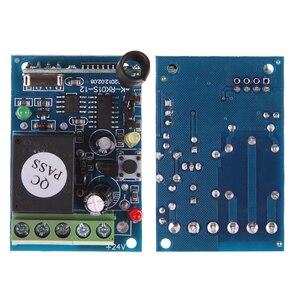 Image 1 - ホット433 mhz dc12v 1 controle remotoチャンネル学習コードワイヤレスリモートコントロールリレーモードuzaktan kumanda