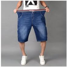 2017 summer Special Men Casual shorts fashion Male Denim shorts Slim micro elastic fabric jeans shorts men plus size 2xl-6XL