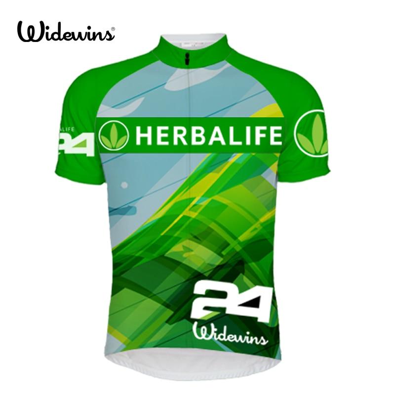 Ny! 2015 HERBALIFE kläder ropa ciclismo cykling hög kvalitet Bike Jersey Team cyklar tight Cycling Jersey Kortärmad