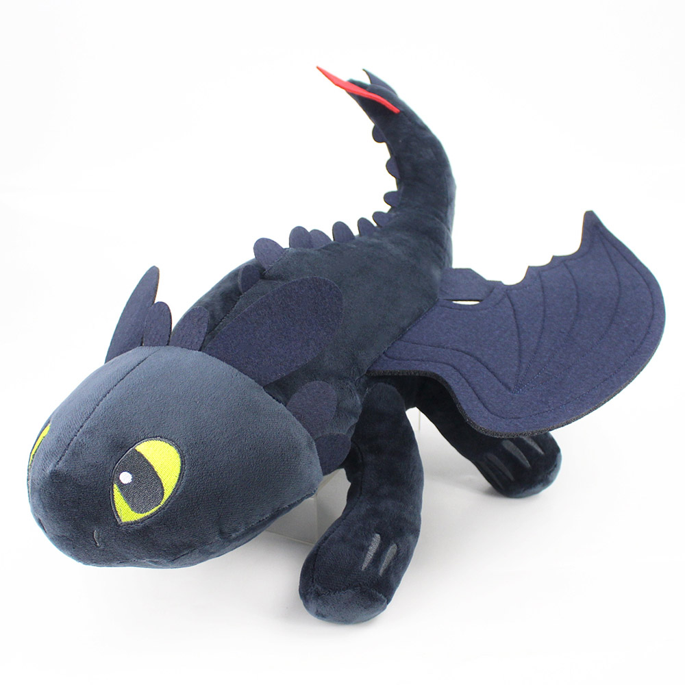23cm How To Train Your Dragon Toothless PlUSH Night Fury Plush Fury Toy Toothless Stuffed Doll Toys Gift For Children