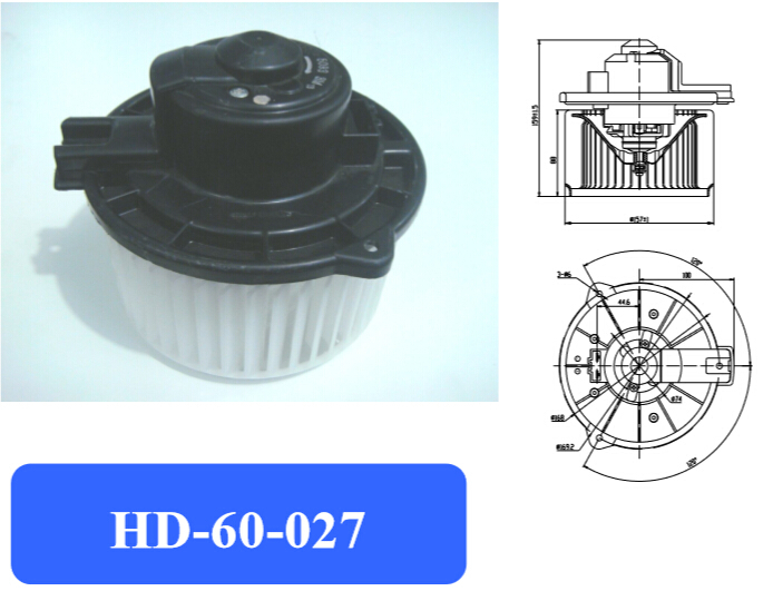 Automotive air conditioning blower motor / Electronic fan/motor / cruiser blower motor air conditioning