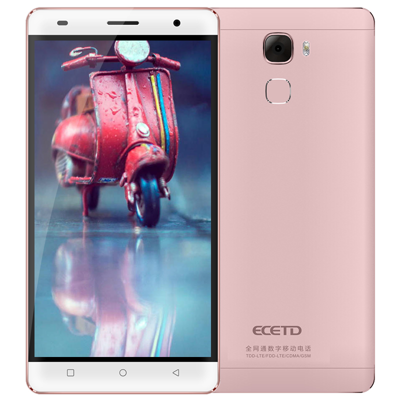 Chinese product ECETD ET200 smartphone 5 5inch HD screen 4G LTE Bar Design Dual SIM Cards