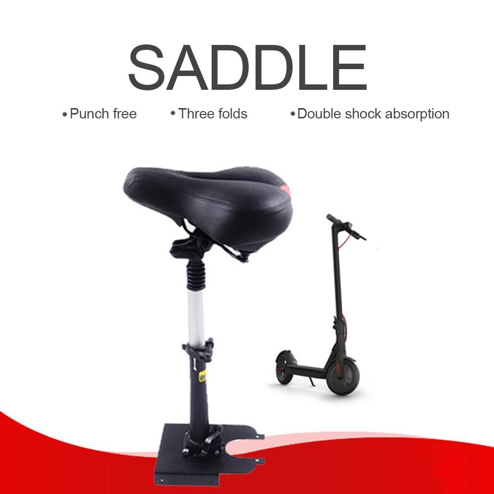 Selle de planche à roulettes électrique pour Xiaomi Ninebot ES1 trottinette électrique pliable hauteur réglable amortisseur chaise de siège pliante