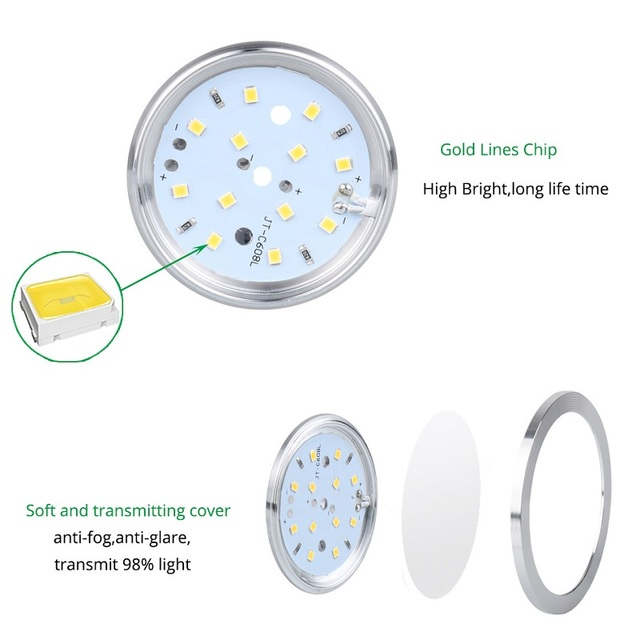 12V LED Under Cabinet Light 2.5W Kitchen Puck Lights wardrobe blub Connectable bar lamp night lamps Wardrobe home Decoration